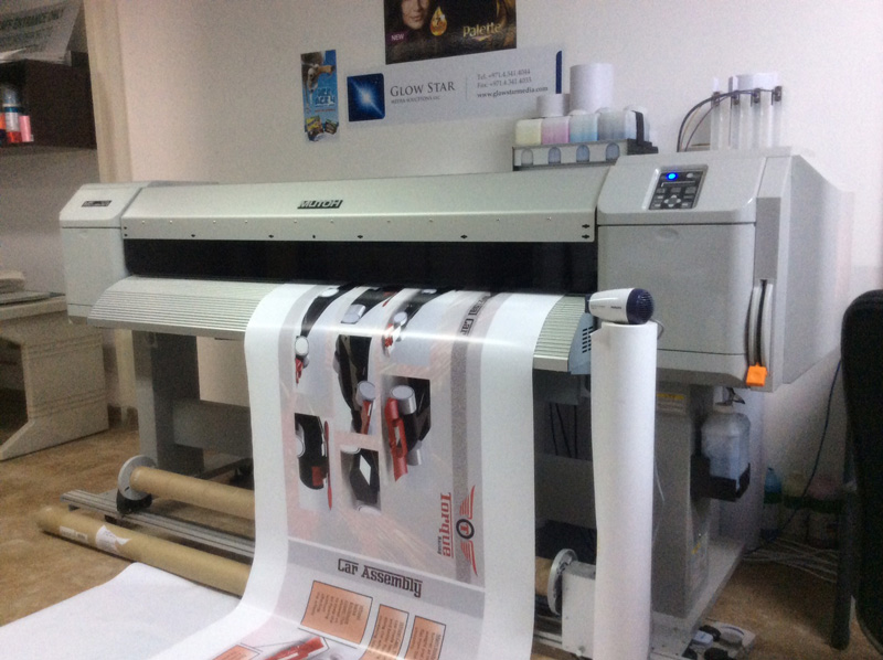 Our Outdoor Double Head Printer - Mutoh Valuejet